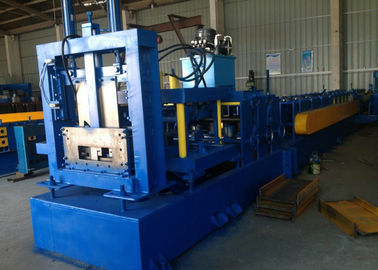 Z Purlin Roll Forming Machine , C Channel Roll Forming Machine BV / SGS