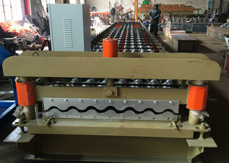 PLC Control Perforated Roofing Sheet Roll Forming Machine Zinc Metal Sheet