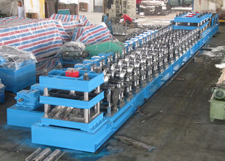 W Beam 3 Wave Highway Guardrail Forming Machine / Rolling Forming Making Machine