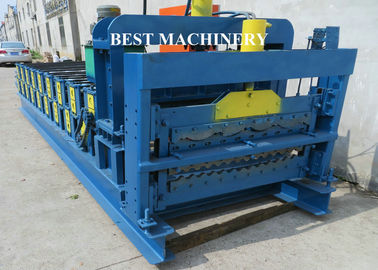 Roof Tile Roll Forming Machine Double Deck Various Profile Corrugated and Glazed