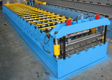 Roofing Sheet Roll Forming Machine Double Layer Steel IBR And Corrugated