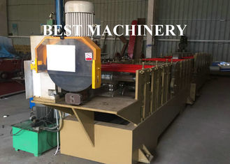 BV / SGS Sqaure And Round Roll Forming Machine Alumiumum Construction