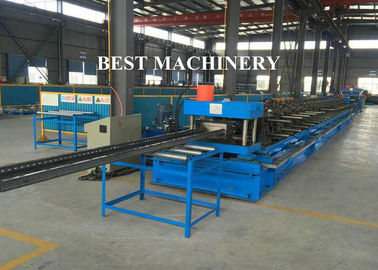 China Automatic Punch Steel Cable Tray Roll Forming Machine Photovoltaic Stents supplier