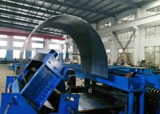 Tank Sheet Custom Roll Forming Machine Steel Silo Curving Corrugated