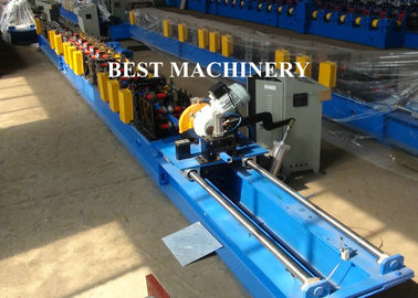 40x40 Pipe Tube Seaming Type Custom Roll Forming Machine Several Size