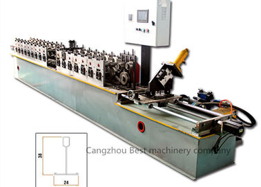 Power 8.5kw Wall Angle Roll Forming Machine 50-60HZ Frequency 2 Years Warranty