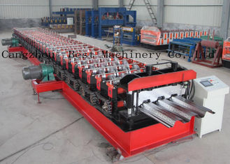 Customized Metal Steel Deck Sheet Roll Forming Making Machine Supplier