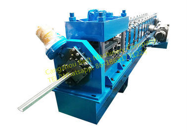 China Steel Rolling Shutter Door Guide rail Roll Forming Machine 3 Phase With 3kw Motor Power supplier