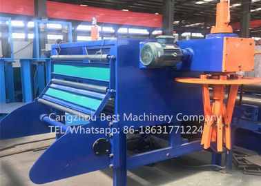 High Precision Automatic 0.3-3mm Steel Coil Slitting Machine Line For Steel And Metal Sheet