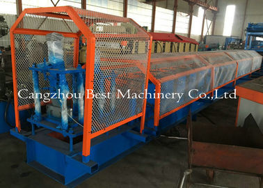 China 80-300 C U Purlin Cold Metal Roll Forming Machine Steel Frame 8-12m/Min supplier