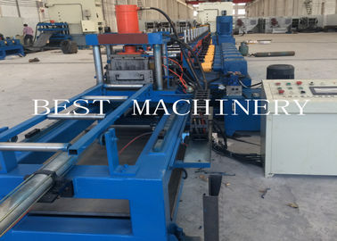 China Automatic Scaffold Walk Board Rolling Forming Machine For Galvaized Iron Sheet supplier