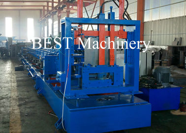 C 80-300 CZ Channel Steel Framing Roll Forming Machine 1.6-3.0mm Thickness