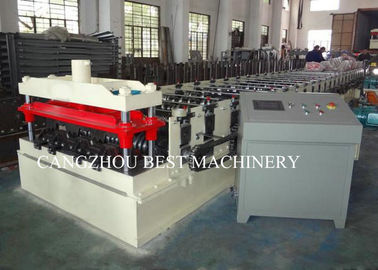 1 Year Warranty 2mm Galvanized Floor Decking Sheet Roll Forming Machine