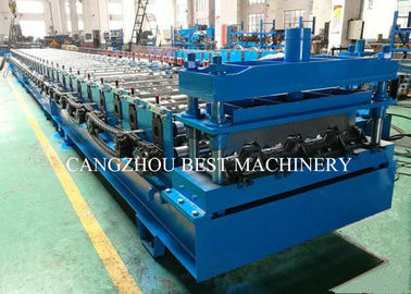 New Condition Deck Sheet Floor Roll Forming Machine PLC Control System