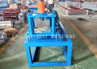 1 Year Warranty Shallow Rain Gutter Roll Forming Machine PPGI/ GI Material