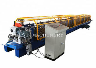 Galvanized Steel Down Spout Roll Forming Machine PPGI/ GI Material