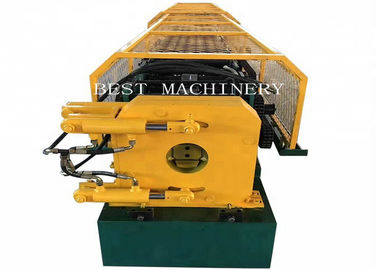 Automatic Steel Round Water Down Pipe Roll Forming Making Machine 8-12m/min speed
