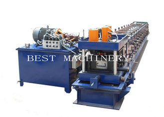 China Manual Adjustable 3mm Thickness C Purlin Roll Forming Making Machine supplier