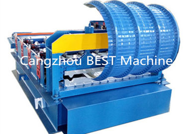 China ISO/CE  Corrugated Roofing IBR Wall Sheet Bending Crinping Curve Machine supplier