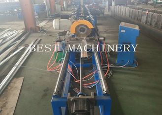 Professional High Speed Oval Tube Roll Forming Machine 380v 4.5kw Power