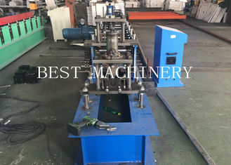 Small C Profile Purlin Roll Forming Making Machine Easy Operation