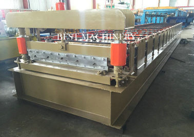 China Cladding Profile IBR Metal Roofing Panel Sheet Roll Forming Machine PLC Control supplier