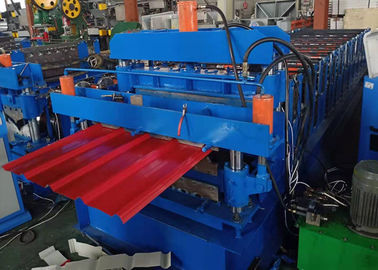 China Double Layer 840/850 Roofing Sheet Roll Forming Machine 6 Kw Power supplier