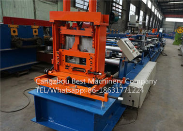 New technology 80-300 Mm Automatic C Z Purlin Roll Forming Machine PLC Control System
