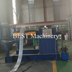 Long Life PLC Control Cable Tray Roll Forming Machine With Punching Production Line