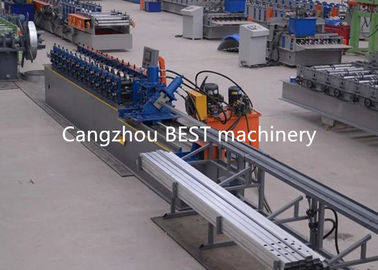 Construction T Grid Cold Rolling Steel Bar Making Machine Ceiling Roll Forming Machine 5.5 kw