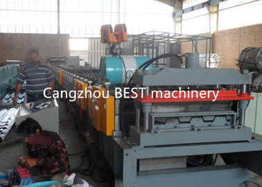 Steel Structure Galvanized Floor Deck Roll Forming Machine With Highly Speed