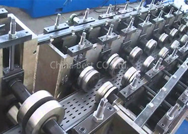 Automatic Cable Tray Roll Forming Machine For Changeable 100-600 Width With Hole