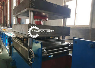 W Beam Guard Rail Roll Forming Machine , Cold Forming Machine Fast Speed