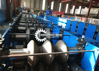 Steel Iron 2&3 Waves Crash Barrier Roll Forming Machine 2 Years Warranty