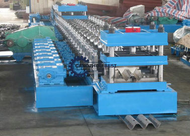 2&3 Waves Saftey Barrier Highway Guardrail Roll Forming Machine Complete Line