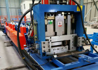 China Full Auto Change Size U Channel Roll Forming Machine XY80-300 4m/min - m/min Speed factory
