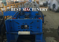 China Roofing Downpipe Channel Roll Forming Machine Seamless Square Shape factory