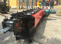 Perforated Rolling Slate Door Roll Forming Machine Australa Stype Steel Metal