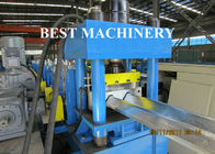 China Three Wave Crash Barrier Roll Forming Machine Highway Guardrail Fence Post factory
