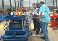 China Water Gutter Feeding Trough Channel Roll Forming Machine Aluminum factory