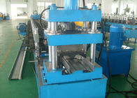 China W Beam 5mm C Post Highway Guardrail Crash Barrier Roll Forming Machine factory