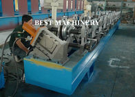 China Half Round Water down Gutter Profile Cold Roll Forming Machine factory