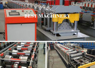China Auto Cutting Pressing Roofing Ridge Cap Forming Machine YX312 BV / SGS factory