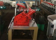 Galvanized Steel Metal Stud And Track Roll Forming Machine Chain Driven Type