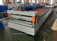 China Steel Metal Roof Sheet Making Machine 3kw Power High Grade Rigidity factory
