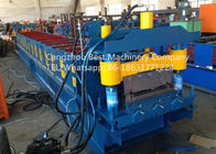 China Professional Roofing Sheet Making Machine , Roof Panel Roll Forming Machine 3kw Power factory