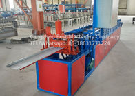 China Hydraulic Roofing Sheet Making Machine 250 / 312 And 416mm Changeable Soffit Panel factory
