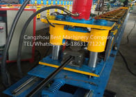 Solar Panels Strut Chanel Rack Roll Forming Machine PLC Control System