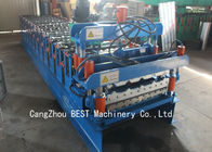 China New Condition Corrugated Roof Sheet Making Machine Colored Steel Tile Type factory