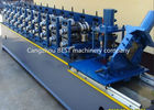 Steel Garage 2' And 3' Track Door Guide Roll Forming Machine 3kw Motor Power